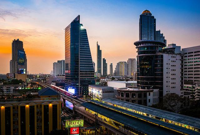 Bangkoks' Einkaufszentren