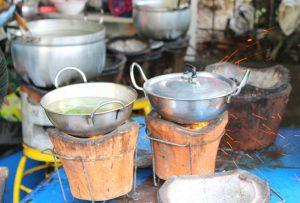 Gar-Küchen in Bangkok