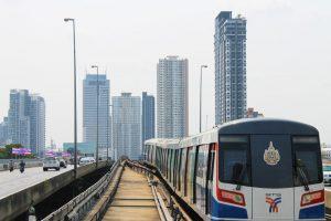 Mit der BTS Bangkok erforschen