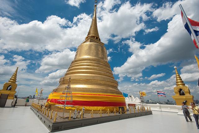 Golden Mount – Tempelanlage mit wenig Touristen