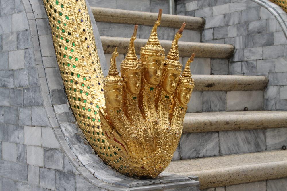 Der große Königs-Palast in Bangkok