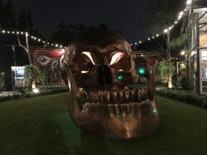 Totenkopf auf dem Chang Chui