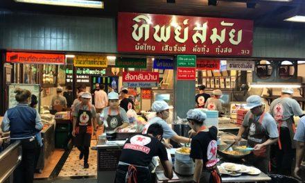 Pad Thai, das traditionelle thailändische Nudelgericht