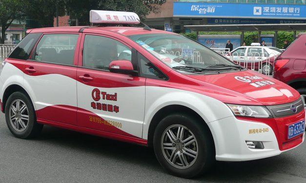 Elektro Taxis in Bangkok