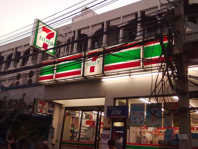 Convenience-Store-Banking im 7-Eleven