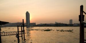Banner: Sonnenuntergang Bangkok